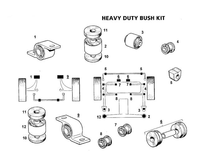 Gpn Suspension Parts